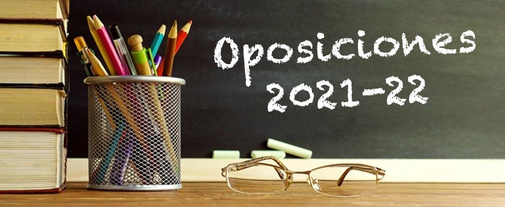 Oposiciones profesor/ maestro 2021-22